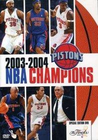 NBA Champions 2003 - 2004 - Detroit Pistons