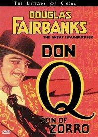 Douglas Fairbanks: Don Q, Son of Zorro