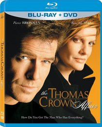 The Thomas Crown Affair (Two-Disc Blu-ray/DVD Combo in Blu-ray Packaging)