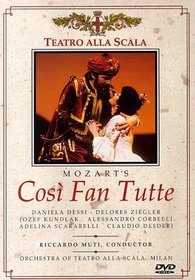 Mozart - Cosi Fan Tutte / Muti, Dessi, Ziegler, Teatro alla Scala