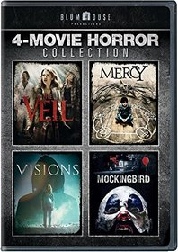 Blumhouse 4-Movie Horror Collection  (The Veil / Mercy / Visions / Mockingbird)