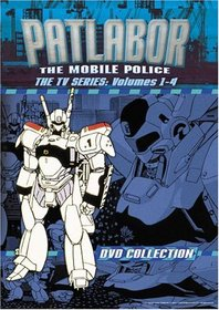 Patlabor - The Mobile Police, The TV Series Boxed Set (Vols. 1-4)