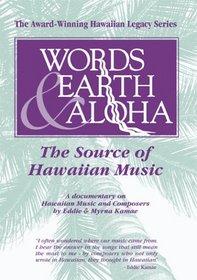 Words Earth & Aloha: The Source of Hawaiian Music