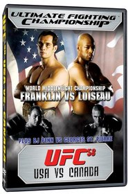 Ultimate Fighting Championship, Vol. 58: USA vs CANADA