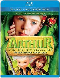 Arthur and the Invisibles 2 & 3: The New Minimoy Adventures (Blu-ray + DVD Combo Pack)