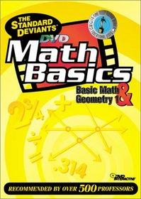 The Standard Deviants - Math Basics DVD 2-Pack (Basic Math, Geometry 1)