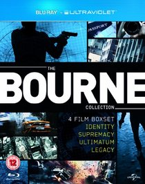 The Bourne Collection (Identity / Supremacy / Ultimatum / Legacy) [Blu-ray]