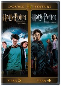 Harry Potter Double Feature: Harry Potter and the Prisoner of Azkaban/Harry Potter and the Goblet of Fire