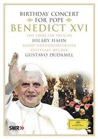 Birthday Concert for Pope Benedict XVI [DVD Video]