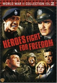 World War II Collection, Vol. 2 - Heroes Fight for Freedom (36 Hours / Air Force / Command Decision / Hell to Eternity / The Hill / Thirty Seconds Over Tokyo)