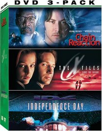 Chain Reaction / The X-Files: Fight the Future / Independence Day