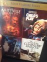 Amityville Horror (2005) / Child's Play / The Last House on the Left / The Texas Chainsaw Massacre 2