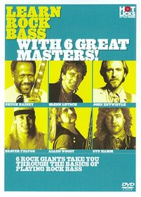 Learn Rock Bass With 6 Great Masters!