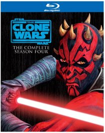 Star Wars: The Clone Wars - Season Four [Blu-ray]