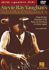 Stevie Ray Vaughan's Greatest Hits - Signature Licks DVD