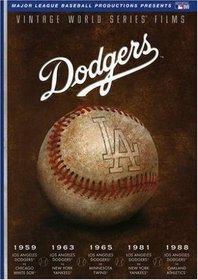 MLB Vintage World Series Films - Los Angeles Dodgers 1959, 1963, 1965, 1981 & 1988