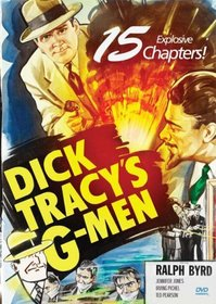 Dick Tracy's G-Men (2pc) (Full B&W Dol)