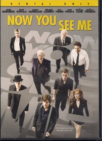 Now You See Me (Dvd,2013)