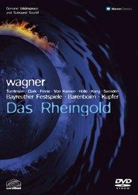 Wagner - Das Rheingold / Tomlinson, Clarke, Holle, Finnie, Johansson, von Kannen, Svenden, Barenboim, Bayreuth Opera