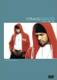 Craig David - Fill Me In (DVD Single)
