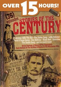 Stories of the Century - 36 TV western episodes