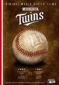 MLB Vintage World Series Films - Minnesota Twins 1987 & 1991