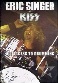 Drum Lessons: Eric Singer All Access To Drumming - learn how to play drums instructional dvd