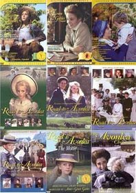Anne of Green Gables Vol. 1, 2, 3 , And Road to Avonlea The Complete First, Second, Third Fourth Volumes,The Movie and An Avonlea Christmas(Region 1 DVD)