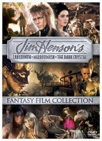 Jim Henson's Fantasy Film Collection - (Labyrinth / MirrorMask / The Dark Crystal)