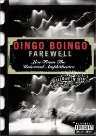 Oingo Boingo - Farewell (Live from the Universal Amphitheatre)