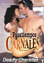 Deadly Charades Dvd Leslie Kay Kimberly Rowe Unrated Uncut Reg 1 Ntsc Import Spanish Cover