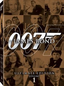 James Bond Ultimate Edition - Vol. 1 (The Man with the Golden Gun / Goldfinger / The World Is Not Enough / Diamonds Are Forever / The Living Daylights)