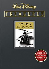 Walt Disney Treasures: Zorro - The Complete First Season