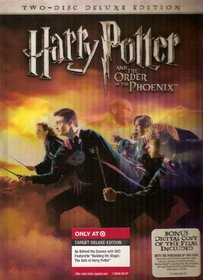 Harry Potter and the Order of the Phoenix 2-disc Deluxe Lenticular Cover Edition