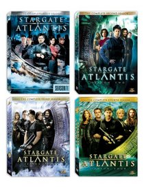 Stargate Atlantis: Seasons 1-4