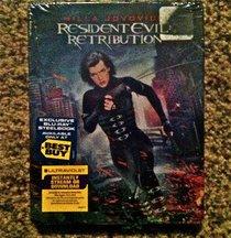 Resident Evil: Retribution Blu-ray SteelBook (Blu-ray + Ultraviolet Digital Copy)
