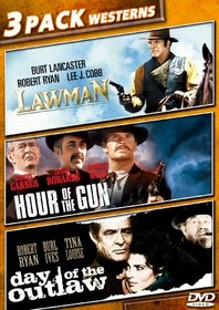 Outlaws and Lawmen 3 Movie (Lawman, Hour of the Gun, Day of the Outlaw)
