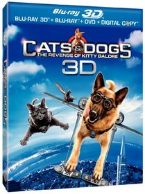 Cats & Dogs: The Revenge of Kitty Galore [Blu-ray 3D]