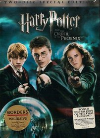 Harry Potter and the Order of the Phoenix 2-Disc Special Edition Borders Exclusive with Hogwarts Journal