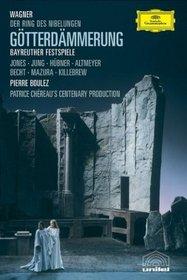 Wagner - Gotterdammerung / Jones, Mazura, Jung, Hubner, Becht, Altmeyer, Killebrew, Boulez, Bayreuth Opera (Boulez Ring Cycle Part 4)