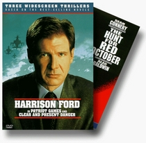 Jack Ryan Thriller Set (The Hunt for Red October/Patriot Games/Clear and Present Danger)