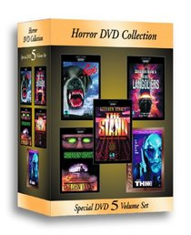 Stephen King Horror DVD Collection (Cujo/Golden Years/The Langoliers/The Stand/Thinner)