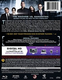 Person of Interest: The Complete Fourth Season (Blu-ray + Digital Copy)