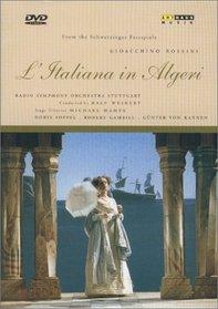 Rossini - L'Italiana in Algeri (The Italian Girl in Algiers) / Weikert, Soffel, Kannen, Gambill, Schwetzinger Festspiele
