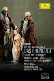 Wagner - Das Rheingold / McIntyre, Zednik, Jerusalem, Salminen, Becht, Schwarz, Boulez, Bayreuth Opera (Boulez Ring Cycle Part 1)