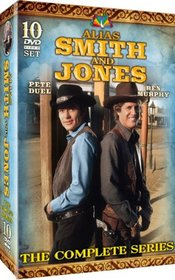 Alias Smith and Jones - The Complete Series! 50 episodes on 10 DVDs!