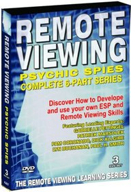 Remote Viewing - Psychic Spies LIVE 6 Part Series - 3 DVD Set