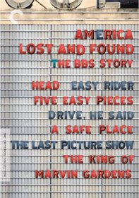 America Lost & Found: The BBS Story (Head / Easy Rider / Five Easy Pieces / Drive, He Said / The Last Picture Show / The King of Marvin Gardens / A Safe Place) (Criterion Collection)