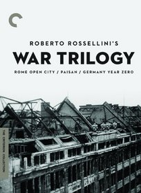 Roberto Rossellini's War Trilogy (Rome Open City/Paisan/Germany Year Zero) (The Criterion Collection)