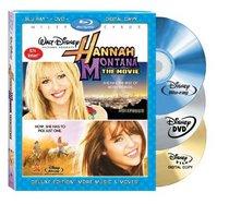 Hannah Montana The Movie (3-Disc Combo Pack Blu-ray + DVD + Digital Copy) [Blu-ray]